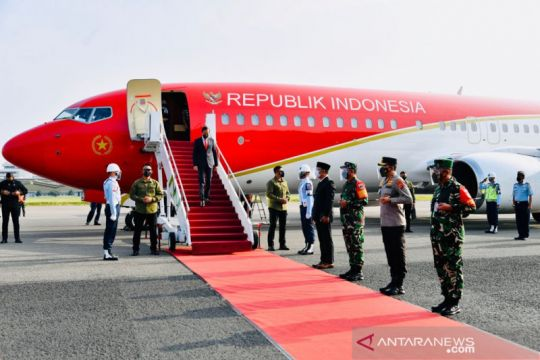 Presiden Jokowi akan pimpin upacara penetapan Komcad di Batujajar