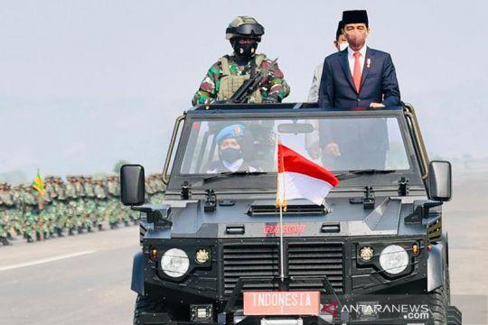 Presiden Jokowi tetapkan 3.103 orang komponen cadangan TNI