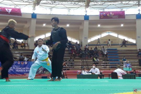 Juara Asian Games menang mudah lawan pesilat Jawa Timur