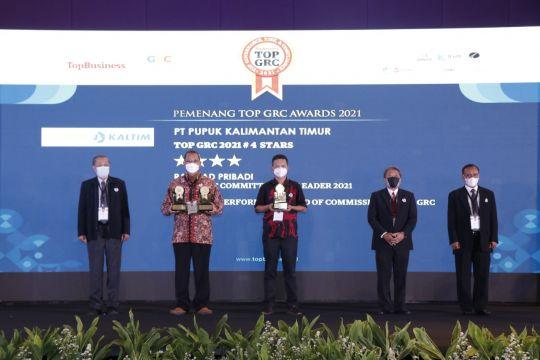 Pupuk Kaltim raih tiga penghargaan TOP GRC Award 2021