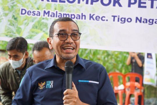 Kementerian BUMN: Makmur Pupuk Indonesia tingkatkan penghasilan petani