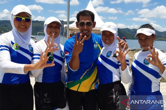 Dayung Sultra optimistis capai target tujuh emas PON Papua