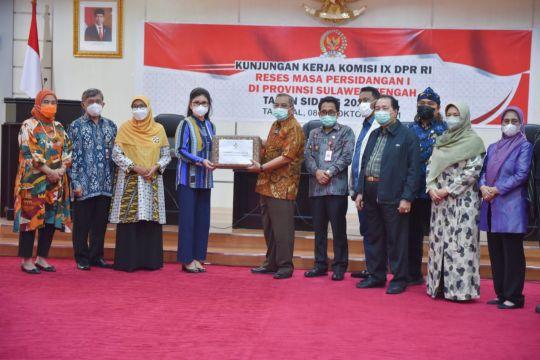 Komisi IX DPR bantu percepat pembangunan kesejahteraan warga Sulteng