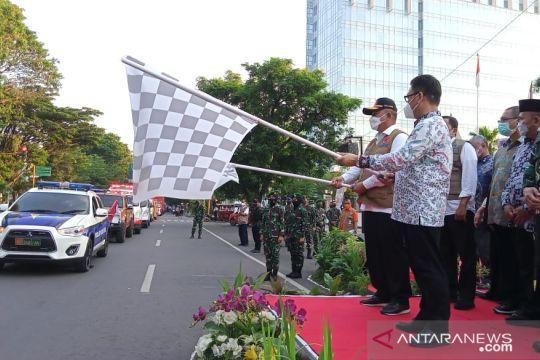Kepala BNPB luncurkan mobil masker di Makassar