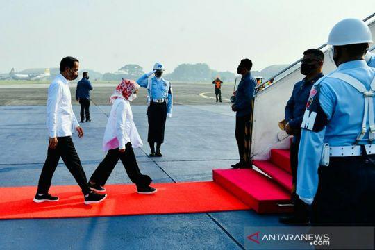 Presiden ke Bali tinjau penanaman Mangrove dan lokasi KTT G20