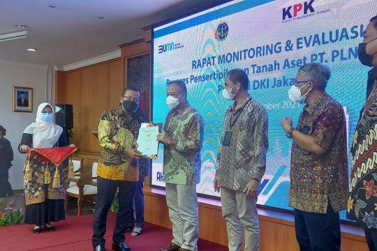 BPN DKI Jakarta rampungkan sertifikasi 66 bidang tanah milik PLN