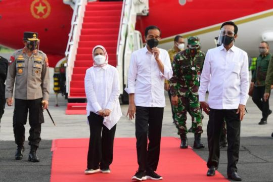 Presiden dan Ibu Negara bertolak ke Yogyakarta usai berkunjung ke Bali