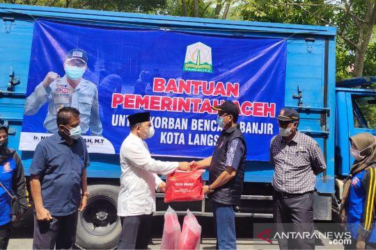 Aceh distribusikan bantuan siaga bencana hadapi musim pancaroba