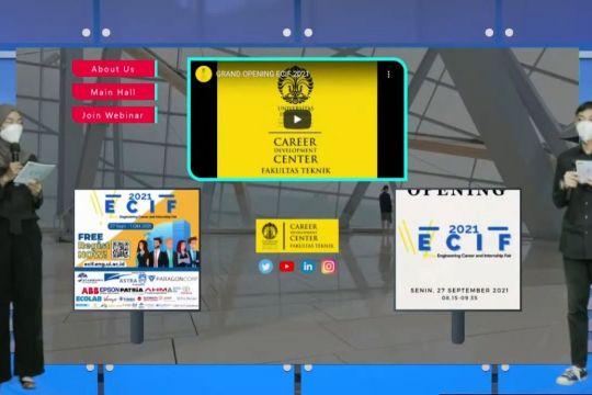FTUI gelar bursa karier virtual diikuti 13 ribu peserta