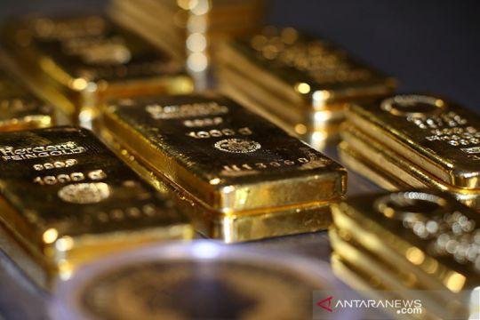 Emas turun 1,8 dolar, tertekan kemungkinan Fed setop stimulus ekonomi