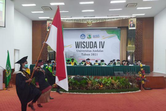 Rektor Unand minta lulusan terus mengasah kompetensi