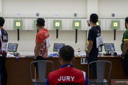 Lampung rebut emas dari Jateng pada nomor Olimpiade menembak