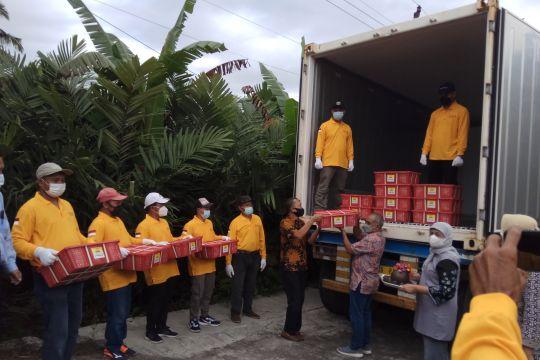 Kemendag lepas ekspor salak pondoh asal Yogyakarta ke Kamboja
