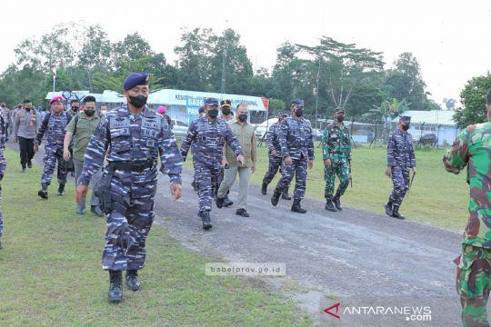 Kasal kaji peningkatan kelas Pos AL Belitung menjadi Lanal