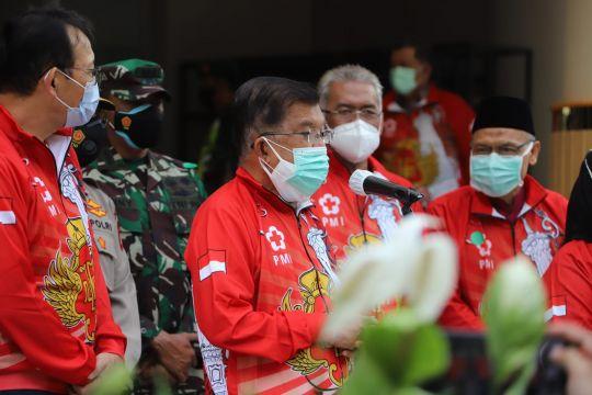 JK resmikan dua juta vaksinasi bagi Indonesia sehat bersama PMI