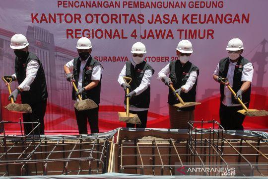 Pencanangan pembangunan gedung OJK Regional 4 Jawa Timur