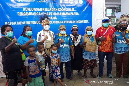 Menpora turut promosikan QRIS di Pasar Mama-Mama Papua