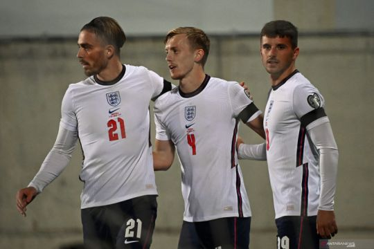 Timnas Inggris libas Andorra lima gol tanpa balas