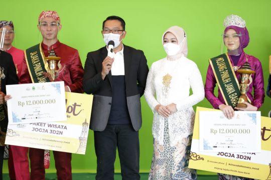 Ridwan Kamil apresiasi Disparbud Jabar gelar Mojang Jajaka 2021