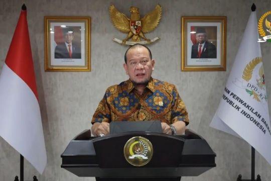 Ketua DPD RI dorong percepatan program vaksinasi