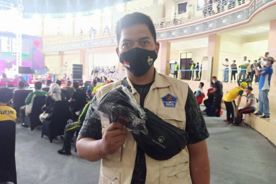 Satgas COVID-19 alokasikan 10.000 masker di setiap arena pertandingan