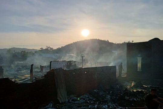 Sebanyak 63 rumah terbakar di Bima