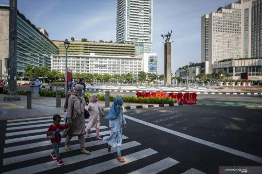 Pemerintah turunkan PPKM Jakarta jadi level dua