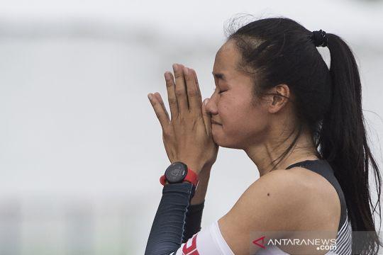 Pelari putri DIY didiskualifikasi pada final lari 400 meter PON Papua