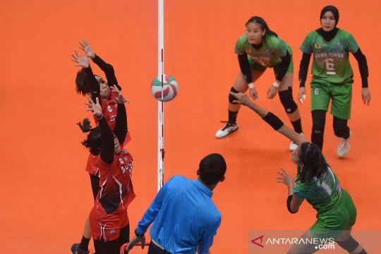 Bola voli putri Jawa Timur kalahkan Sulawesi Utara