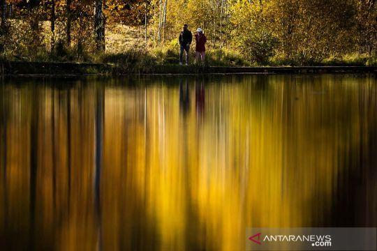 Indahnya musim gugur di Moskow