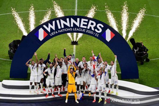 Prancis juarai UEFA Nations League 2021