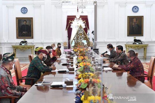 Presiden terima audiensi Panitia Mahasabha XII PHDI di Istana Negara
