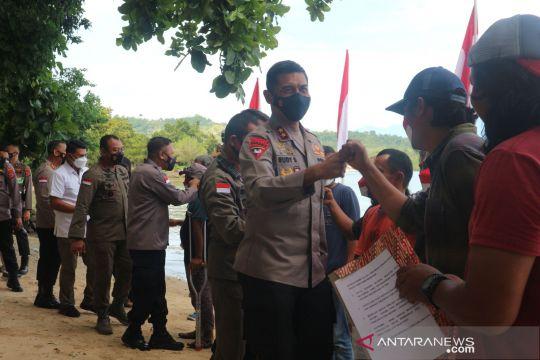 Kapolda Sulteng bersilaturahmi dengan mantan napiter Poso