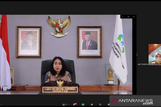 Menteri PPPA: Fesyen batik tumbuh stabil di masa pandemi