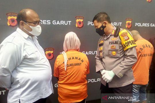 Polisi ungkap rekayasa wanita korban perampokan Rp1,3 miliar di Garut