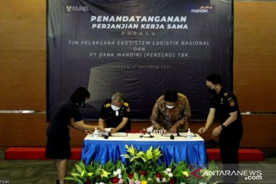 Bea Cukai-Bank Mandiri kerja sama layanan bank pada ekosistem logistik