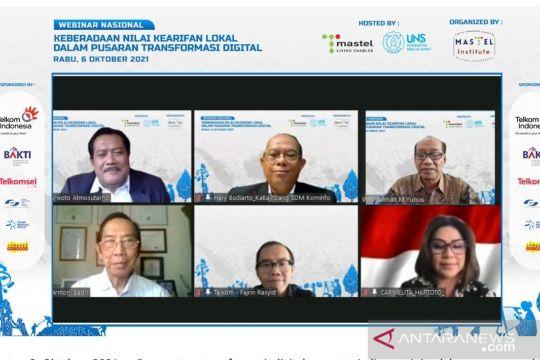 Kominfo: Masyarakat berperan dalam akselerasi transformasi digital