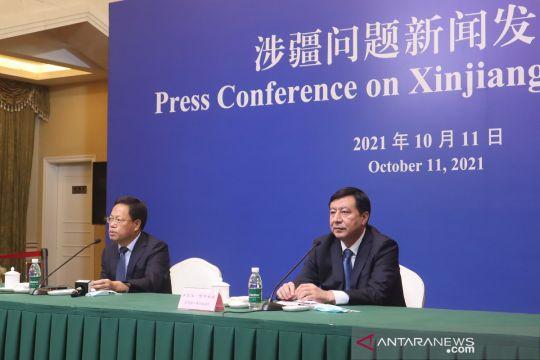 Xinjiang boyong koleksi galeri antiterorisme ke Beijing