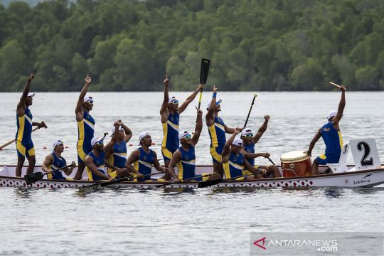 Jabar pertahankan gelar juara umum dayung PON Papua