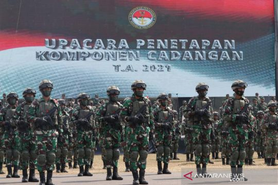 Kemhan: Komcad bukan wajib militer karena bersifat sukarela