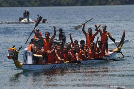Enam kontingen dayung akan berebut emas perahu naga 500 meter campuran