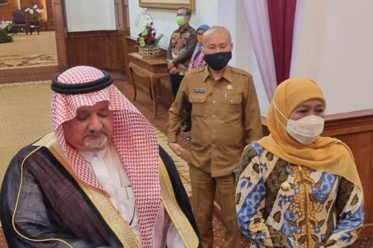 Jatim minta ada konektivitas vaksinasi masyarakat dengan Arab Saudi
