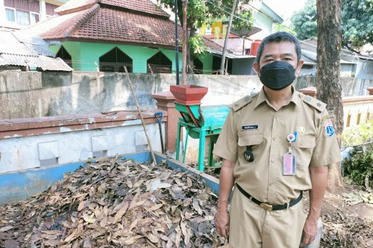 PPSU Jakarta Barat produksi satu ton pupuk organik