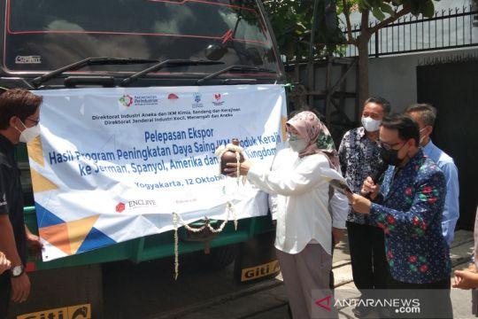 Kemenperin lepas ekspor produk kerajinan dari empat IKM Yogyakarta