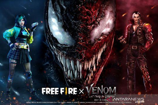 """Free Fire"" hadirkan konten & misi baru ""Venom: Let There Be Carnage"""
