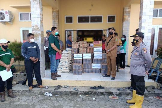Astra Agro bantu obat dan bahan makanan untuk korban banjir Paser-PPU