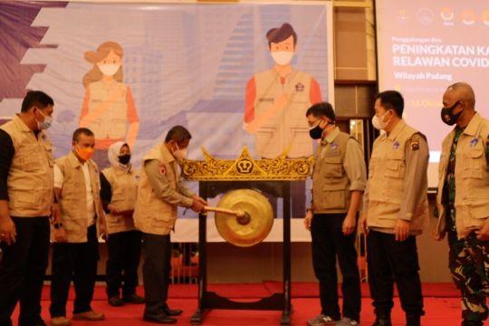 Satgas COVID-19 tingkatkan kapasitas 1.000 relawan di Padang Raya