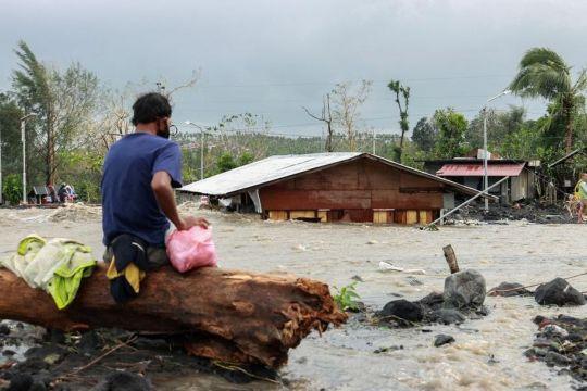 Siklon tropis Kompasu terjang Filipina, 9 orang tewas