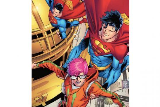Superman digambarkan biseksual di komik terbaru