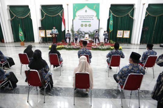 Ridwan Kamil targetkan Jabar juara umum STQH 2021